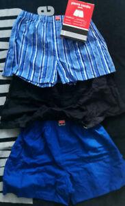 Neu 3 Stück Pierre Cardin Woven Boxershorts Shorts Unterhose Gr.XL
