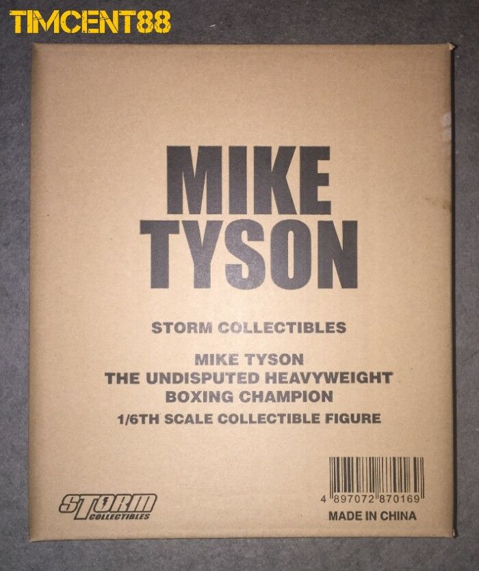 Storm Toys Collection Mike Tyson incontesté champion de boxe poids lourd 1 6