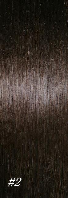"26""CLIP IN REMY REAL HUMAN HAIR EXTENSIONS BLACK DARK BROWN BROWN BLONDE 135gram"