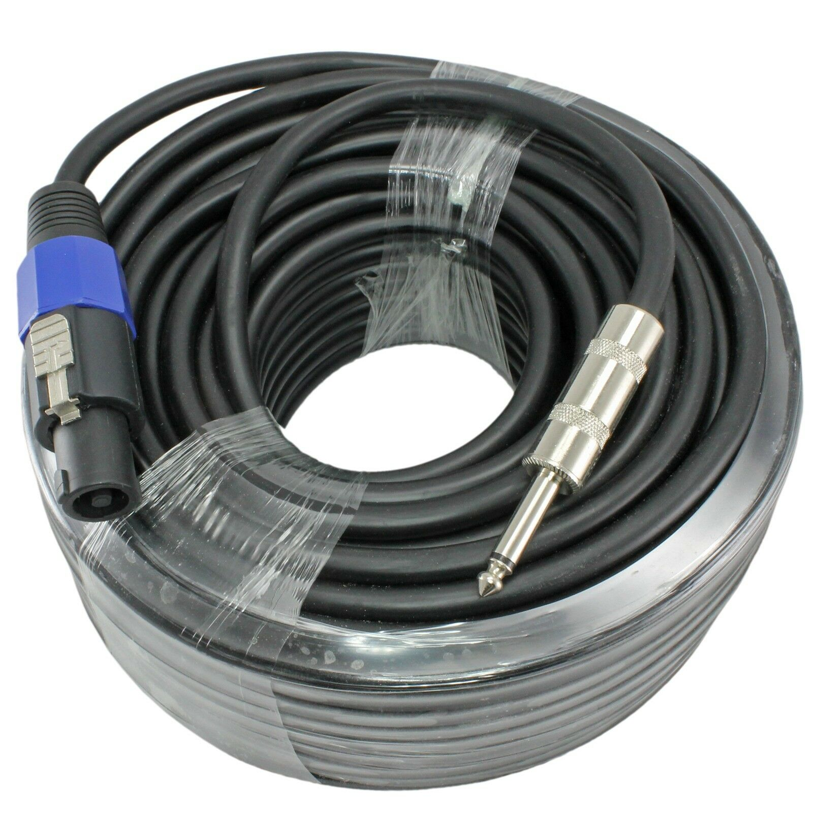 100 Foot 12 Gauge 1/4 to Speakon Compatible Speaker Cable for PA DJ ...
