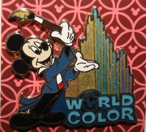 Disney-2017-World-Of-Color-Mickey-Mouse-with-Brush-Painting-Fountain-Water-Pin