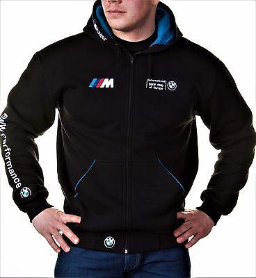 Zip Hoodie Bmw M Power Motorsport Club Embroidery Logos