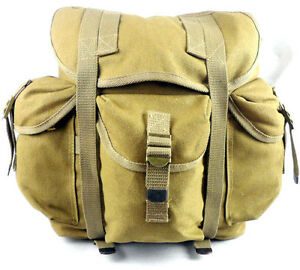 Image Is Loading The Vietnam War Us Army Style Haversack Backpack