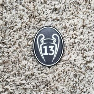 2018 UEFA CHAMPIONS LEAGUE Real Madrid Soccer patch 13 TROPHY badge ... 1f992e37289b1