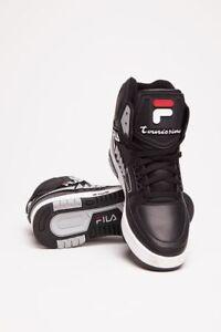 1ccc399bcf1e FILA Men s Tourissimo Black White Red Heritage High Top (Size 10 US ...