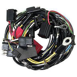 ford mustang headlight wiring loom harness coupe image is loading ford mustang headlight wiring loom harness 1966 66