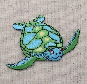 Green and yellow Turtle Patches  Iron or Sew on $5 for all 3 and FREE Shipping!
