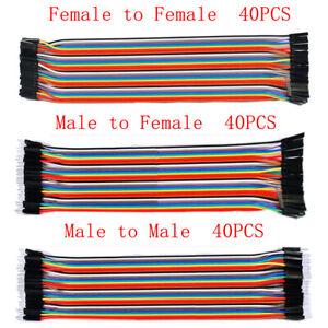 40PCS-2-54MM-20CM-Dupont-Jumper-Wire-Ribbom-Gpio-Cable-Pi-Nuovo-F-F-M-M-F-M