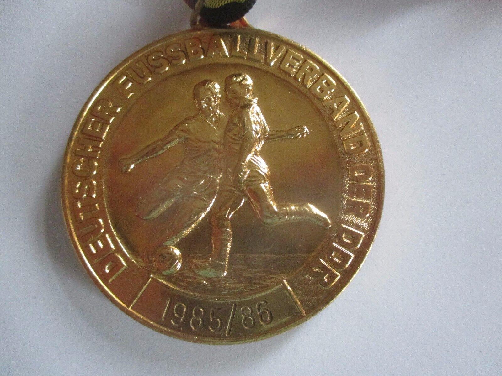 M3 JUGEND Gold MEDAILLE 1985 86 86 86 FC VORWÄRTS FRANKFURT DDR OBERLIGA Fußball DFV 481f7c