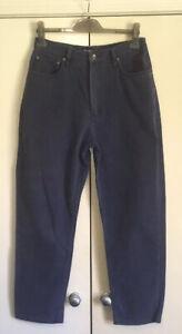Jeans-West-Straight-Leg-High-Rise-Women-039-s-Blue-Pants-Jeans-Size-14