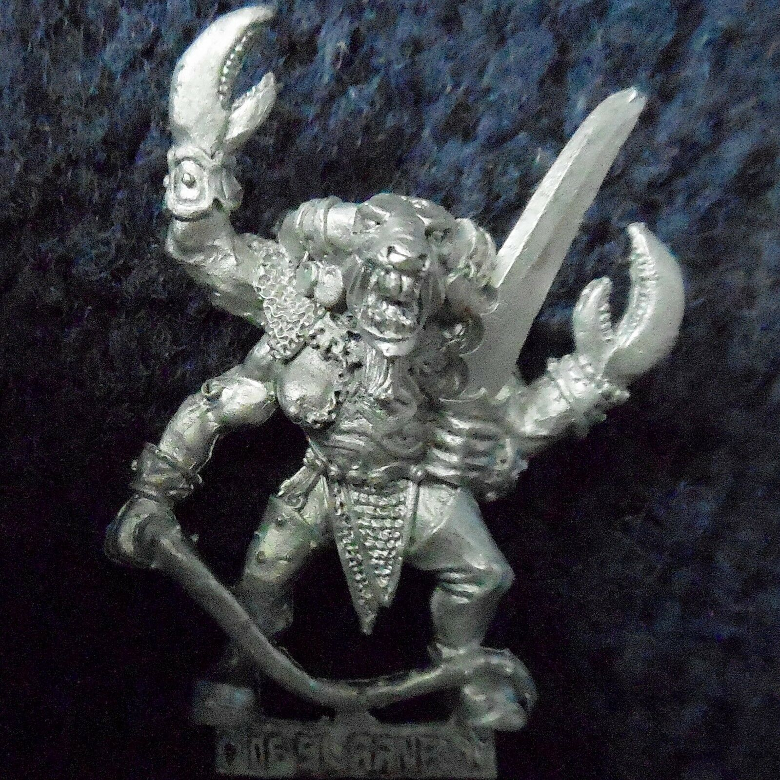 1992 Epic Chaos Keeper of Secrets 2 Daemon Citadel Warhammer Army 6mm 40K Demon
