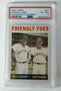 1964-Topps-Friendly-Foes-Willie-McCovey-Leon-Wagner-41-PSA-6