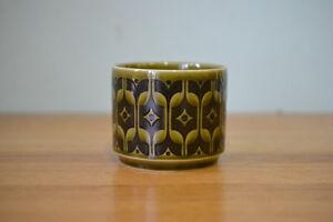 Vintage-Hornsea-green-sugar-bowl-condiment-Heirloom-1975-No-449