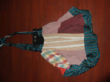 JUNKY LONDON RECYCLED  ANTHROPOLOGIE PATCHWORK BOHO JUMPER DRESS ONE SIZE