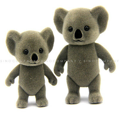 2pcs Sylvanian Families Koala Family 3/'/' Doll figure Toys M622