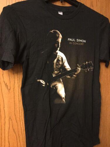Paul Simon.  Black Shirt.  S.