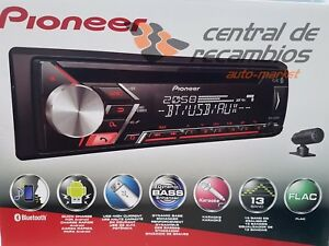 Autoradio-lector-CD-MP3-Pioneer-audi-skoda-seat-bluetooth-android-DEH-S3000BT