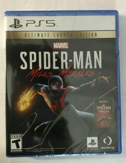 Spider-Man Miles Morales Ultimate Launch Edition Playstation 5 PS5 New Sealed