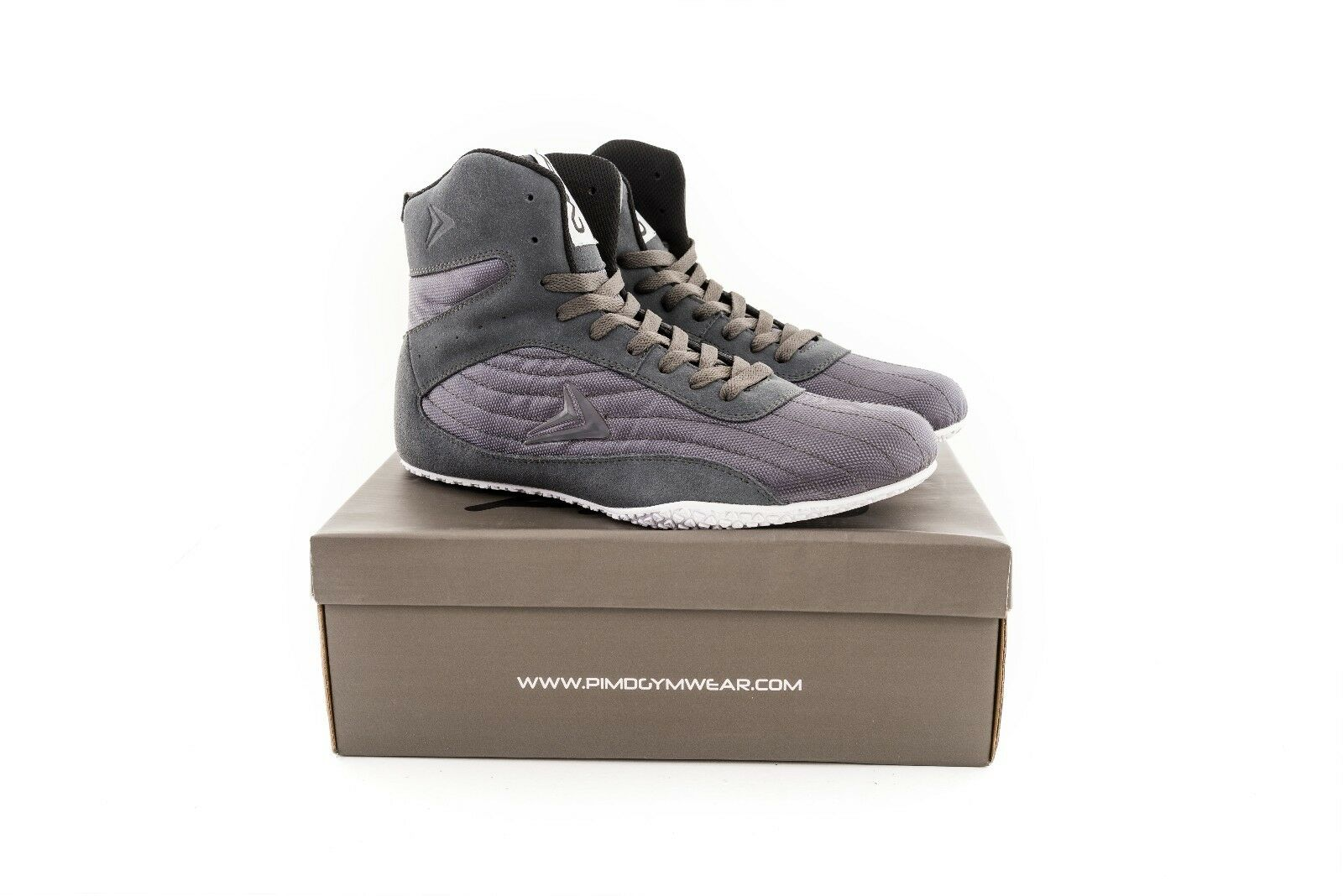 PIMD Grey X-Core V2 Gym shoes Training High Top Boots Bodybuilding MMA Boxing