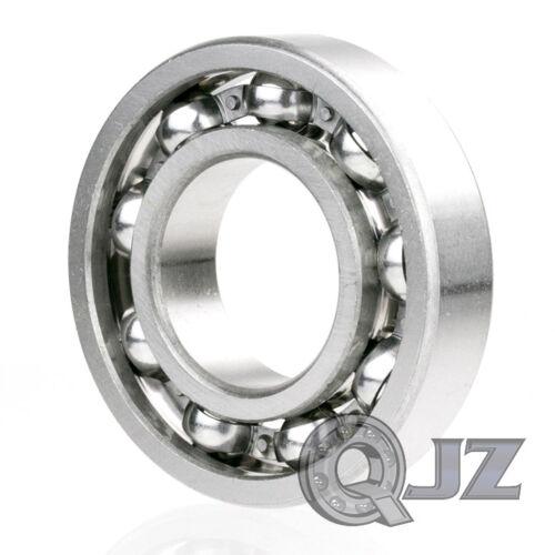 2x 6306-OPEN Ball Bearing Bore 30mm x Outside 72mm x Width 19mm NEW QJZ