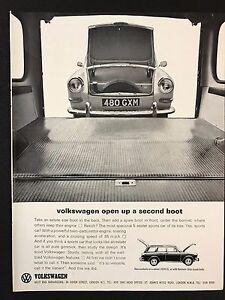 Vintage 1964 Motor Sport Magazine Advert  VOLKSWAGEN VARIANT Second Boot - Carrickfergus, Antrim, United Kingdom - Vintage 1964 Motor Sport Magazine Advert  VOLKSWAGEN VARIANT Second Boot - Carrickfergus, Antrim, United Kingdom