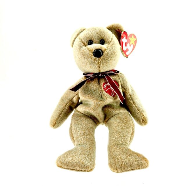 TY Beanie Baby 1999 Signature Bear Doll Collectible to The USA for sale  online  d8311d0eb5