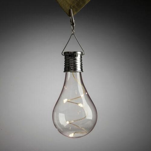 Solaire Rotatif extérieur jardin lumière DEL Camping Hanging Imperméable Ampoule De Lampe
