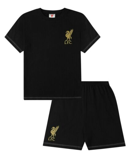 Official Liverpool Football Club Short Pyjamas  9 10 11 12 13 14 15  Years LFC