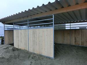 Toller-grosser-Offenstall-Stall-Boxenstall-Weidehuette-Paddock-Unterstand-Top