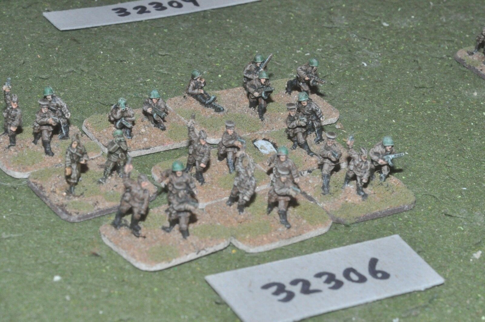 15mm WW2   russian - section 24 figures - inf (32306)