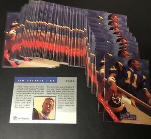 68 Card Lot 1991 Pro Line Portraits The National July 1991 Promo Jim Everett