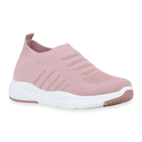 Damen Sportschuhe Strick Laufschuhe Slip On Sneaker Turnschuhe 897096 Hot