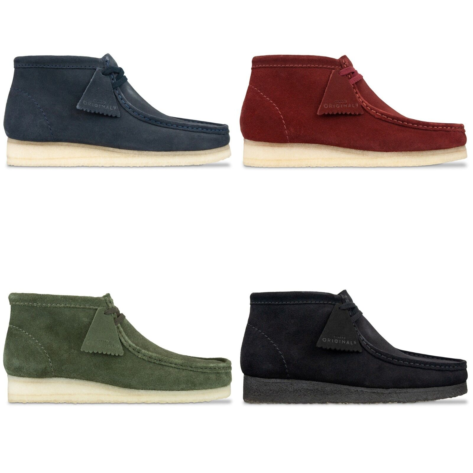 Clerchen Originals - Clerchen Originals Wallabees Stiefel - Schwarz, Blau, Nussbraun