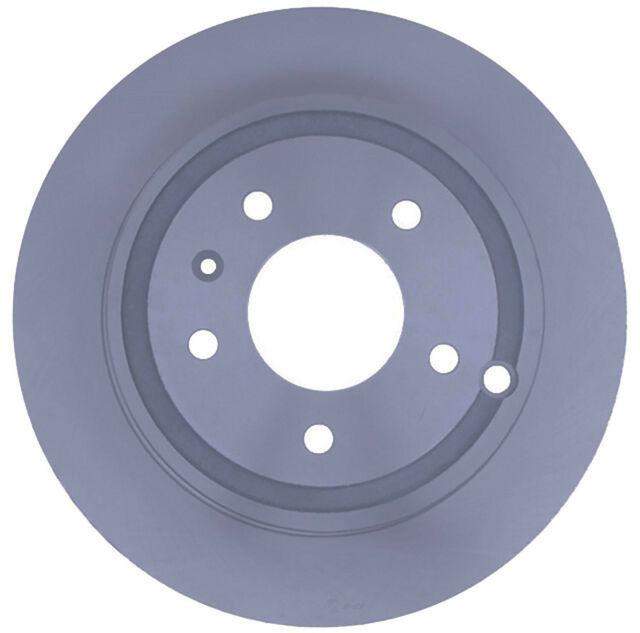 Disc Brake Rotor-Coated Rear ACDelco Advantage 18A2472AC