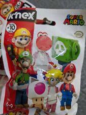 K/'NEX Ice Luigi Super Mario Bros Mystery Figure Series #8 Blind Bag NEW