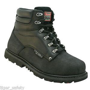 Tomcat Grit TC1000A S3 M Black Waterproof Metatarsal Steel Toe Safety Work Boots