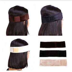 1PC Adjustable Velvet Wig Grip Scarf Headband Scarf Hair Head Band Wiggery LJ