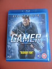 BLU RAY CD DVD MOVIE FULL 1080p HD DTS GAMER GERARD BUTLER ACTION VIOLENCE