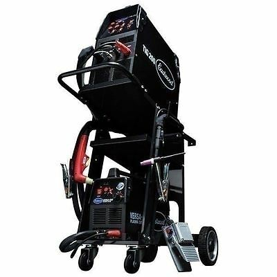 Eastwood TIG200 Tig Welder & Versa 40 Cut Plasma Metal Cutter Kit Plus Weld Cart