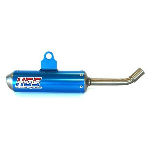 HVA TC 65 18-20 HGS 2 Takt Schalldämpfer KTM SX 65 blau