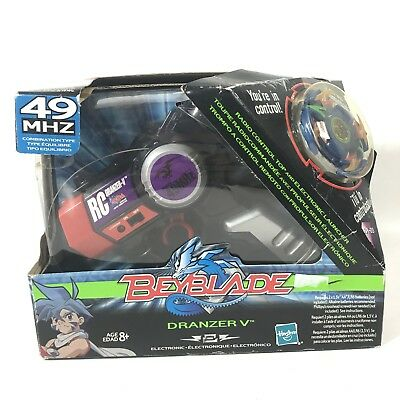 BeyBlade Dranzer V 49Mhz Remote Control RC Electronic Top Launcher Rip Hasbro