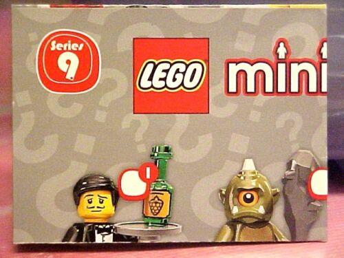 LEGO FOLDED CHECKLIST MINI POSTER minifigs Series 9