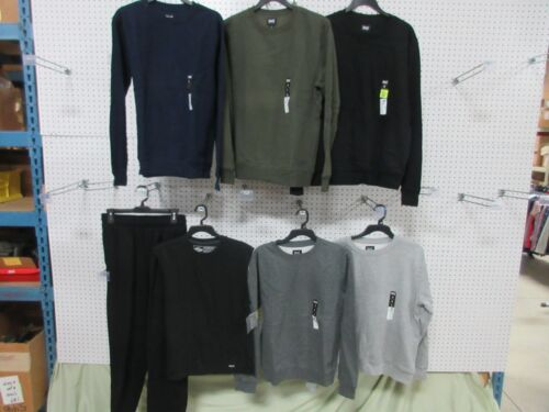 7 MENS SWEAT PANTS SWEATSHIRTS SIZE SMALL S GYM LOUNGE ATHLETIC CLOTHES LOT BULK free shipping