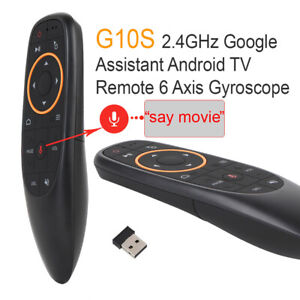Details about Air Mouse Wireless Remote Google Voice Command Control For  Smart TV/TV Box/PC