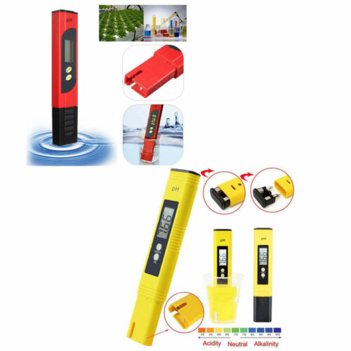 Digital LCD PH Meter TDS EC Purity PPM Filter Hydroponic Pool Tester ATF