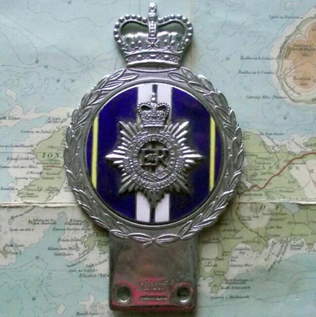 Original Vintage Car Mascot Badge British Army Royal Army Service Corps by Gaunt