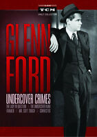 Glenn Ford: Undercover Crimes Dvd Collection (5-disc Set) Framed / Convicted +