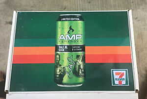 7-11-AMP-LIMITED-ED-SET-1-24-EARNHARDT-JR-2012-DIE-CAST-SIGNED-W-HAT-amp-DRINK