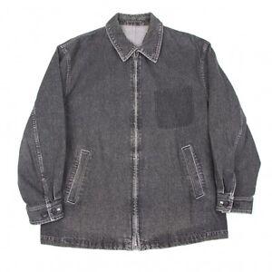 COMME-des-GARCONS-HOMME-Denim-Zip-Jacket-Size-About-L-K-41060