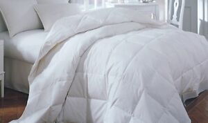 edd106f44d Image is loading King-White-Down-Feather-Comforter-Bedding-Blanket-Baffle-